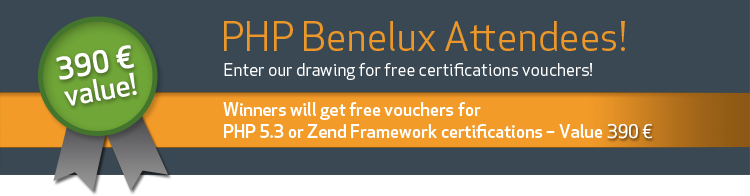 Enter our drawing and get PHP/ZF certifications!