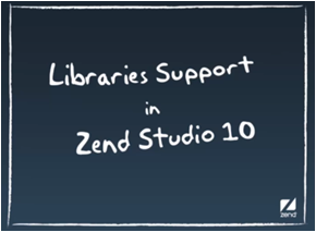 Zend Studio Bibliotheken-Management