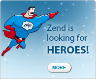 Zend is looking for heroes